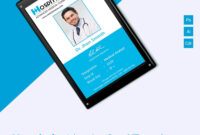 001 Identification Card Templates Free Download Template in Employee Card Template Word