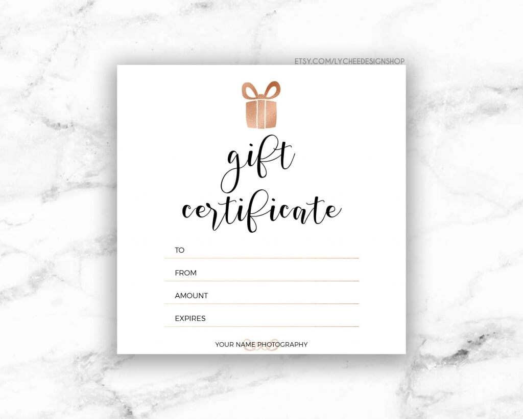 001 Printable Photography Gift Certificate Template Ideas For Free Photography Gift Certificate Template