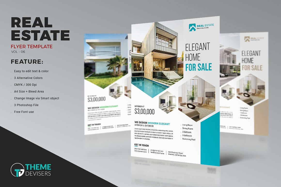 001 Real Estate Flyer Inside Real Estate Brochure Templates for Real Estate Brochure Templates Psd Free Download