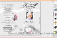 001 Template Ideas Free Memorial Awful Cards Card Word within Memorial Cards For Funeral Template Free