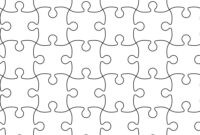 001 Template Ideas Jigsaw Puzzle Seamless Pattern Vector Jig within Jigsaw Puzzle Template For Word