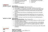 002 Social Worker Resume Templates Services Contemporary pertaining to Community Service Template Word