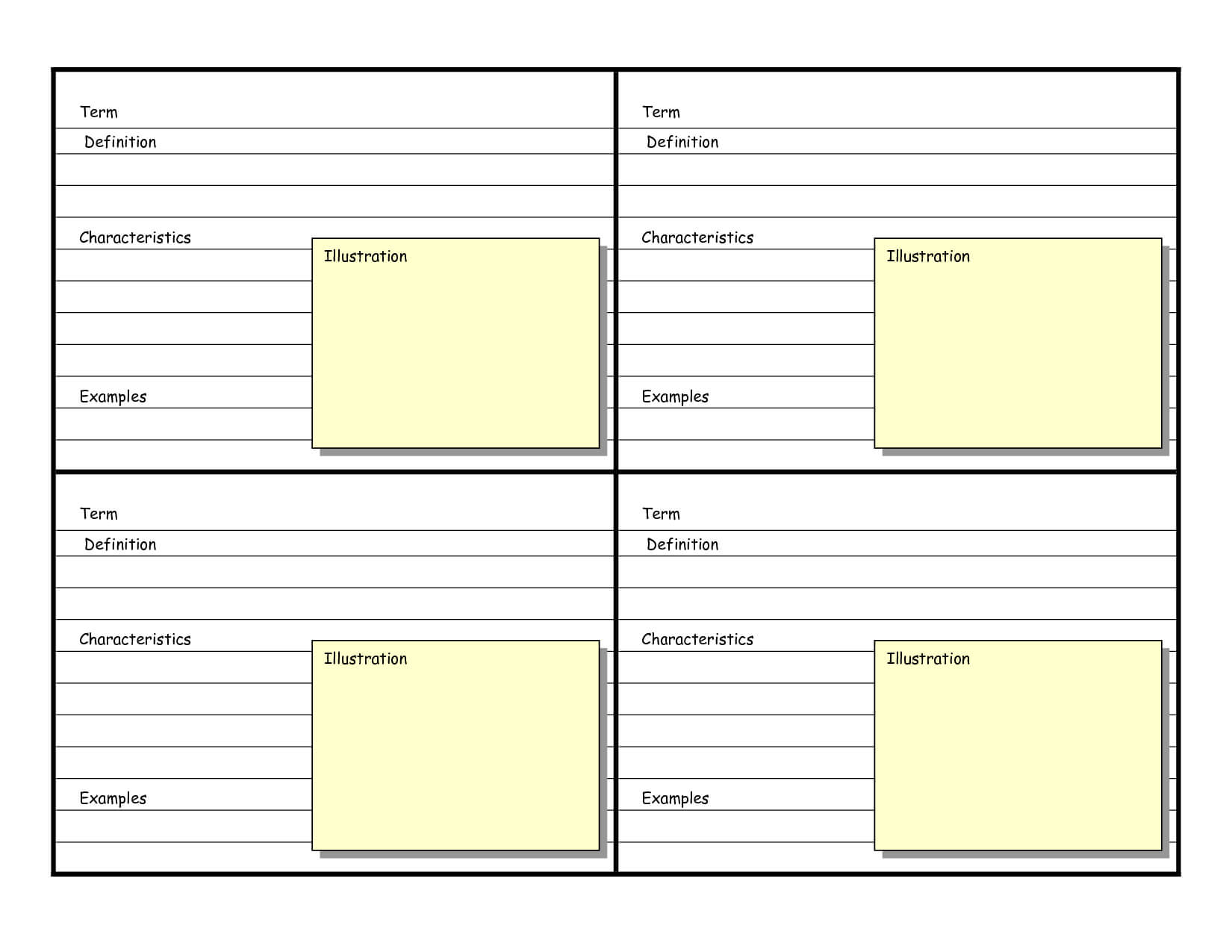 002 Template Ideas Word Flash Card Remarkable Microsoft Free in Microsoft Word Note Card Template