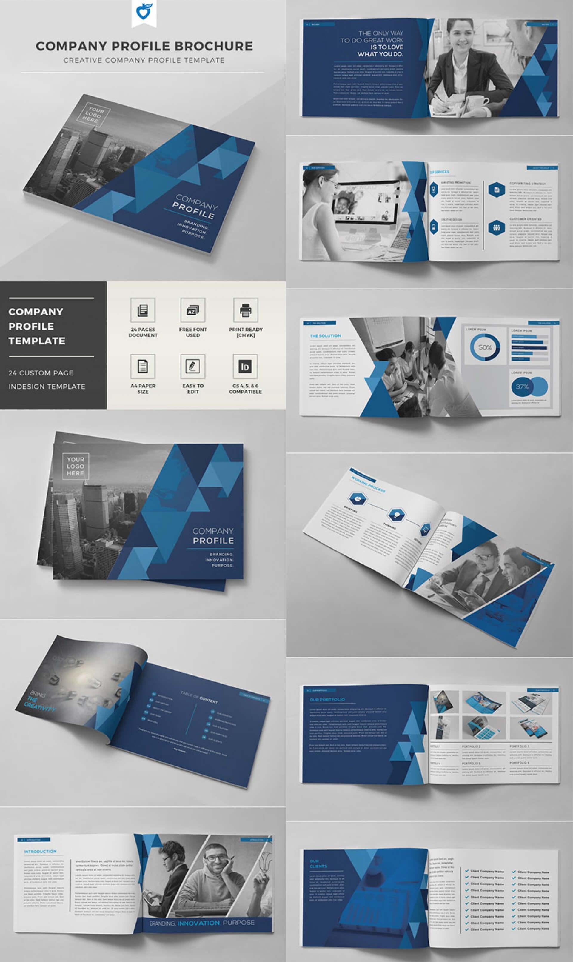 003 Indesign Brochure Templates Free Download Template Ideas within Brochure Templates Free Download Indesign
