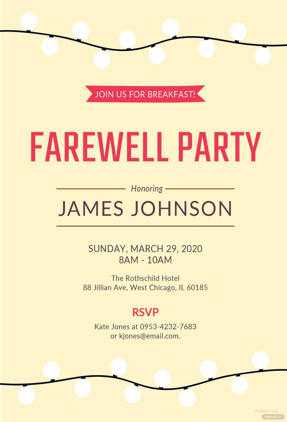 003 Template Ideas Farewell Invitation Free Party Word Within Farewell Card Template Word