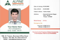 005 Alpine Template Update Employee Id Card Templates throughout Employee Card Template Word