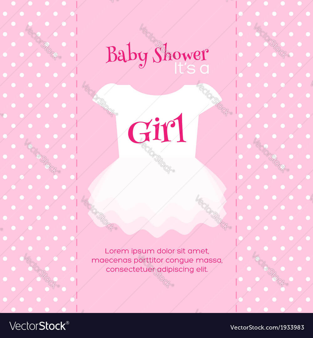 005 Baby Shower Invitation Template Vector Ideas regarding Free Baby Shower Invitation Templates Microsoft Word