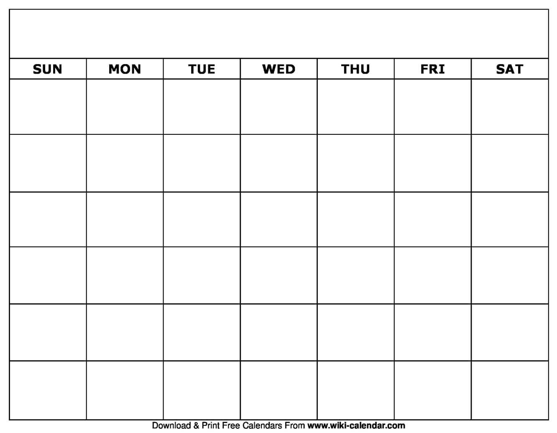 005 Blank Calendar Template Ideas Striking Printable Free within Blank Calander Template
