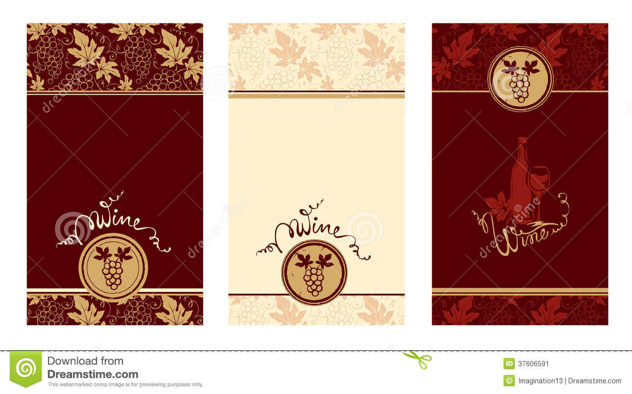 005 Free Wine Label Template Templates Labels Illustrations with regard to Blank Wine Label Template