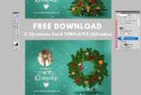 005 Photoshop Christmas Card Templates Template Amazing pertaining to Adobe Illustrator Christmas Card Template