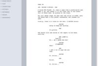 005 Template Ideas Scriptwizardscreen Microsoft Word for Microsoft Word Screenplay Template