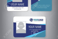 006 Id Card Template For Employee And Others Free Badges within Id Card Template Word Free