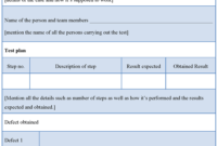 006 Test Plan Template Word Nttizml9 Archaicawful Ideas inside Software Test Plan Template Word