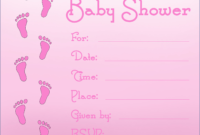 007 Baby Shower Announcement Templates Facebook Free Invites with Free Baby Shower Invitation Templates Microsoft Word