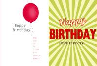 007 Template Ideas Creative Birthday Invitation Quarter Fold in Birthday Card Template Microsoft Word