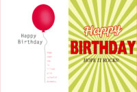 007 Template Ideas Creative Birthday Invitation Quarter Fold Pertaining To Quarter Fold Birthday Card Template