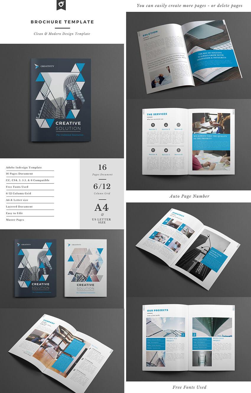 008 Best Indesign Brochure Templates Creative Business In with Brochure Template Indesign Free Download