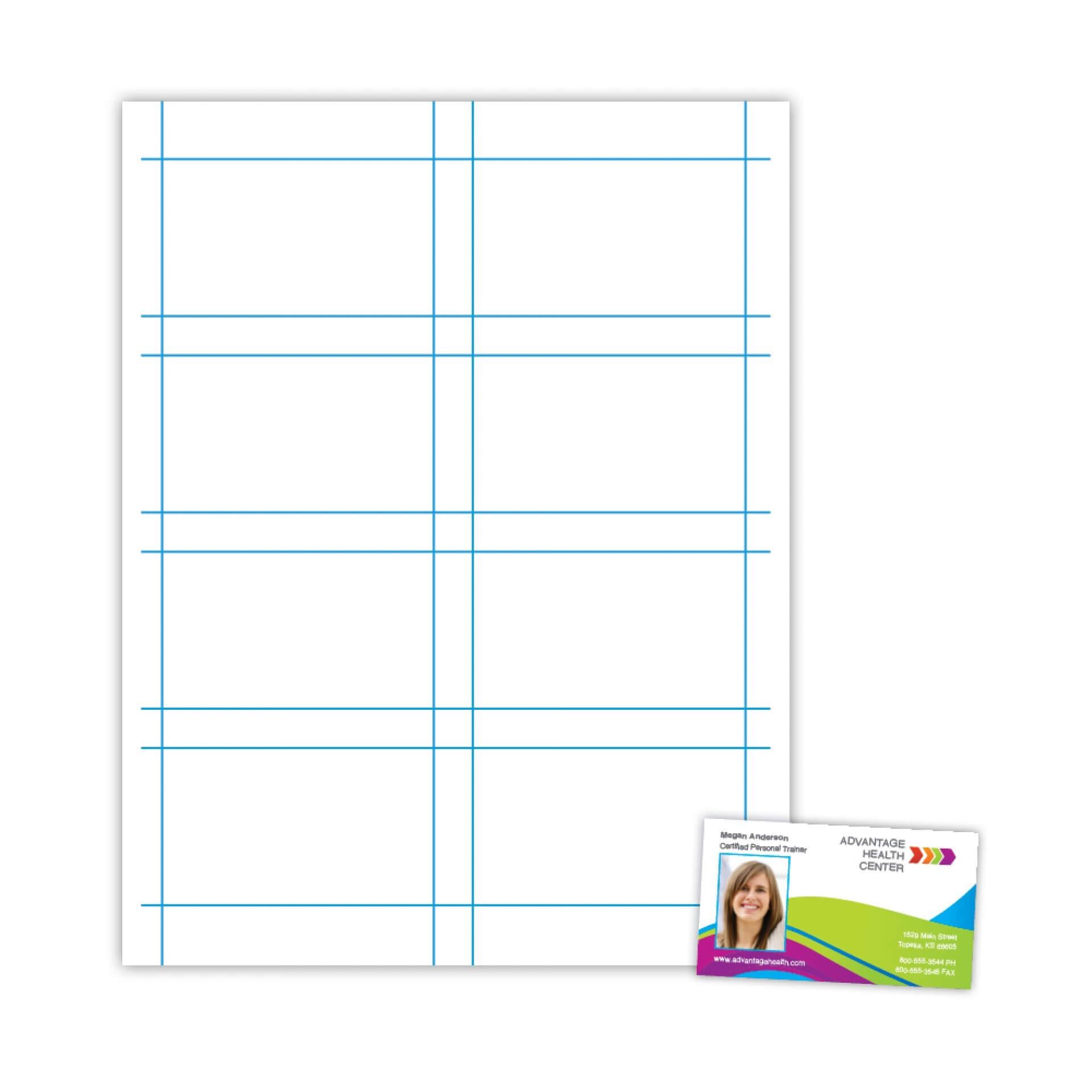 008 Blank Business Card Template Free Microsoft Word regarding Blank Business Card Template For Word