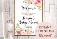 009 Bridal Shower Welcome Sign Template Astounding Ideas within Free Bridal Shower Banner Template