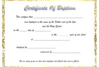 009 Certificate Of Baptism Template Unique Ideas Word inside Christian Baptism Certificate Template