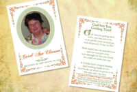 009 Template Ideas Free Memorial Awful Cards Card Templates pertaining to Prayer Card Template For Word