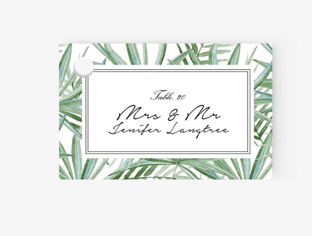010 Template For Place Cards Ideas Flat Card in Place Card Template Free 6 Per Page