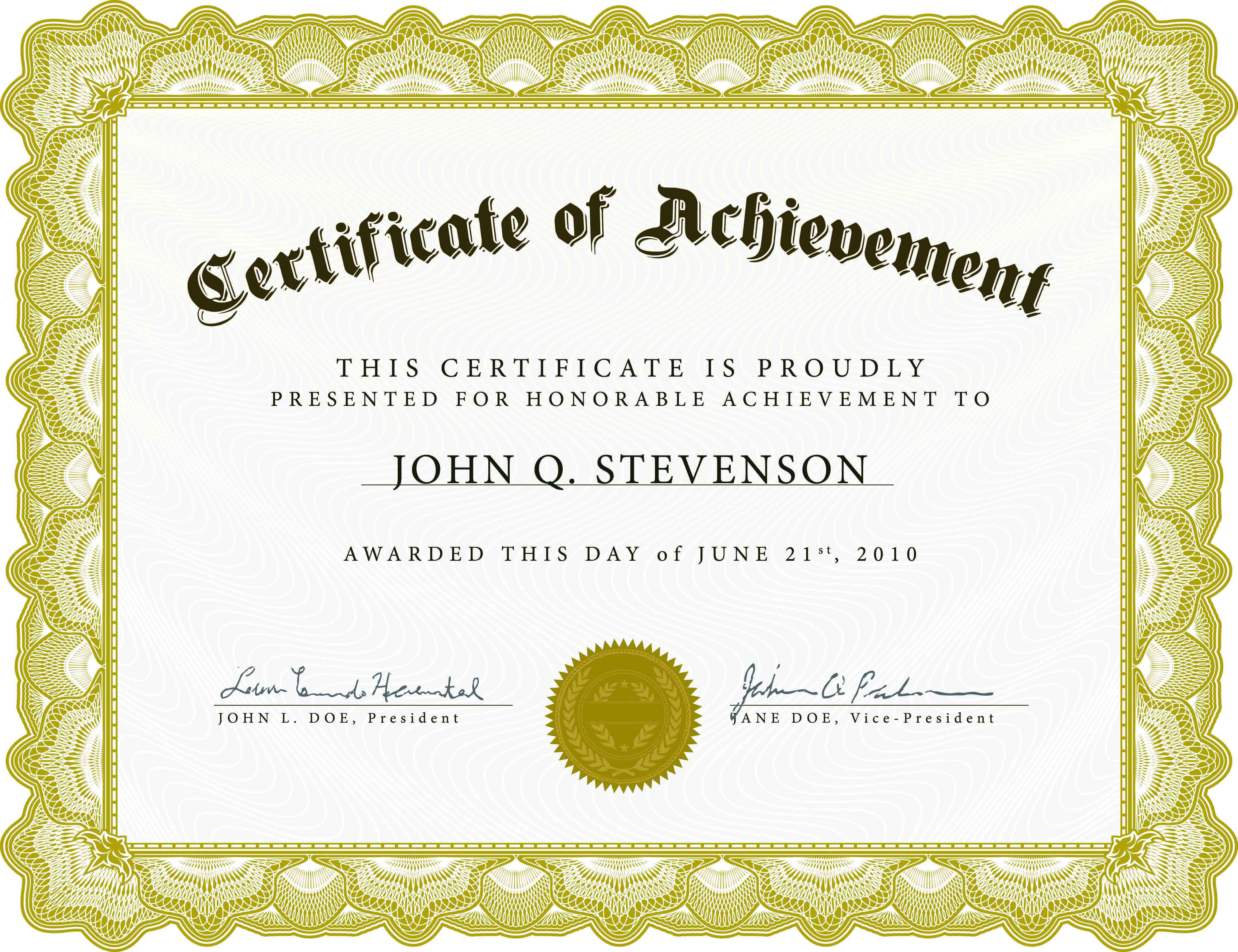 010 Template Ideas Blank Certificate Templates For Word Pertaining To Certificate Templates For Word Free Downloads
