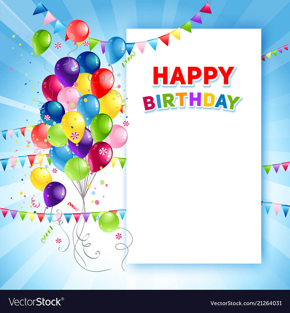 011 Free Birthday Card Templates Festive Happy Template Regarding Birthday Card Publisher Template