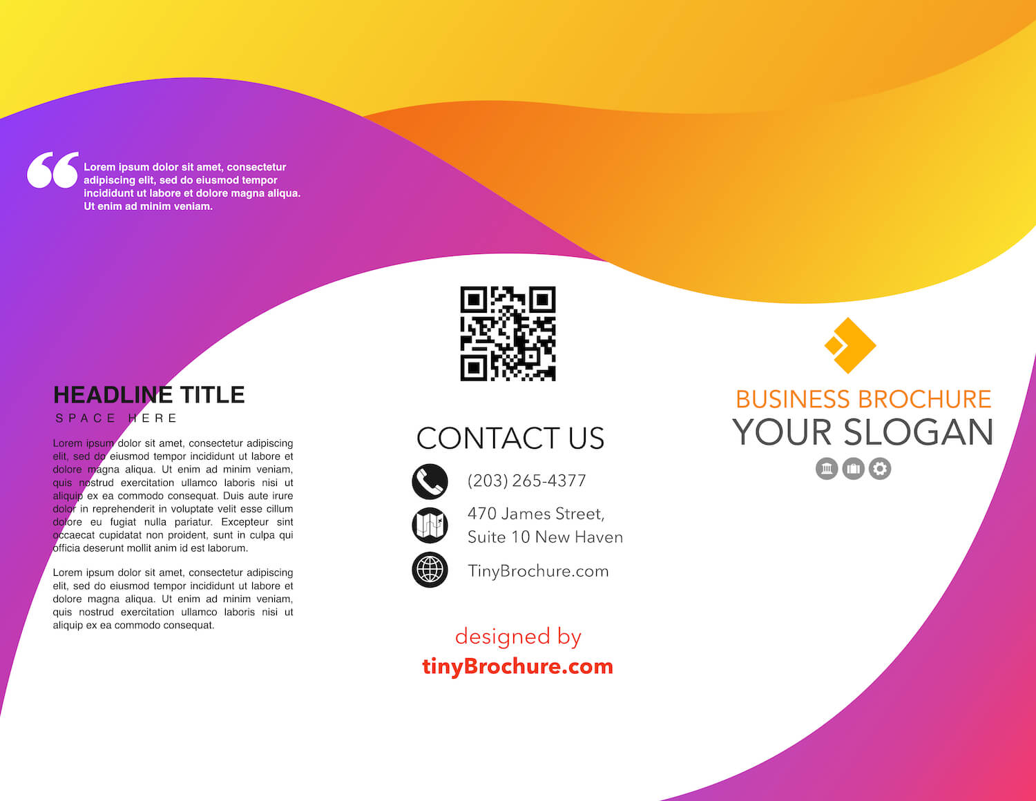 011 Trifold Brochure Template Google Slides Templates Drive Pertaining To Brochure Template For Google Docs