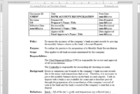 012 Policy And Procedure Templates Template Ideas Manual with regard to Procedure Manual Template Word Free
