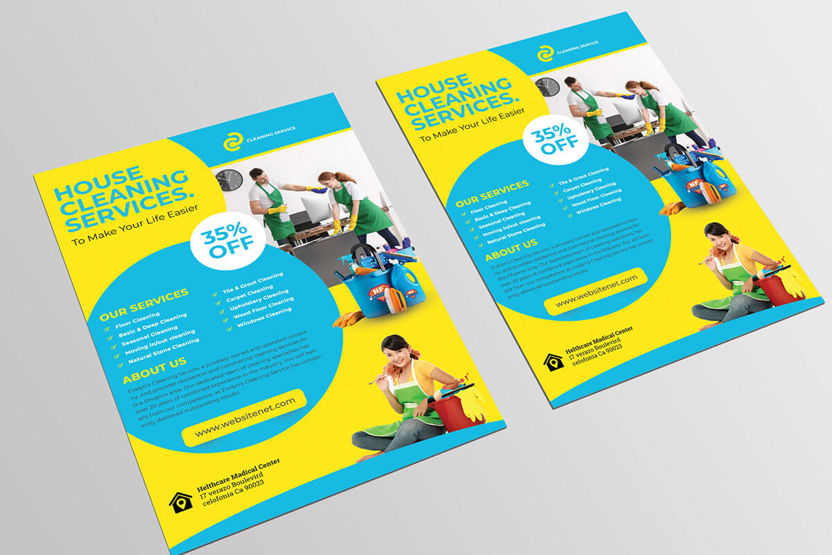 012 Template Ideas Cleaning Service Flyer Remarkable Psd Within Commercial Cleaning Brochure Templates