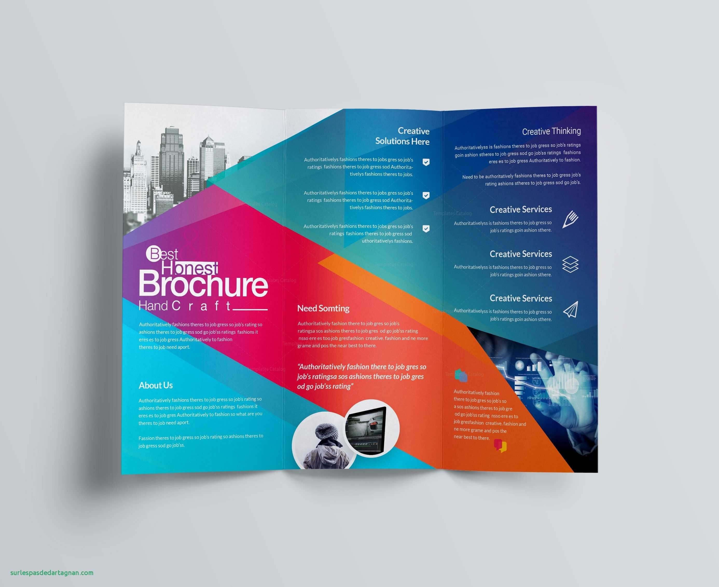 012 Template Ideas Free Brochure Templates For Kids Bi Fold In Free Illustrator Brochure Templates Download