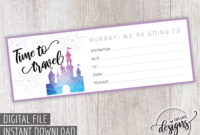 012 Travel Gift Certificate Template Stirring Ideas Voucher With Regard To Free Travel Gift Certificate Template