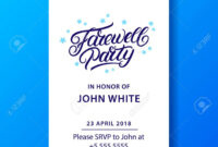 013 Boss Farewell Invitation Daily Motivational Quotes Send with Farewell Invitation Card Template