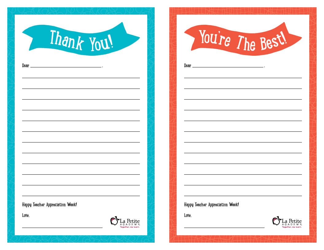 013 Thank You Note Template Free Notes Lpa Phenomenal Ideas in Thank You Card For Teacher Template