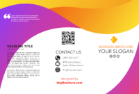 013 Trifold Brochure Template Google Slides Pamphlet Docs inside Google Docs Tri Fold Brochure Template