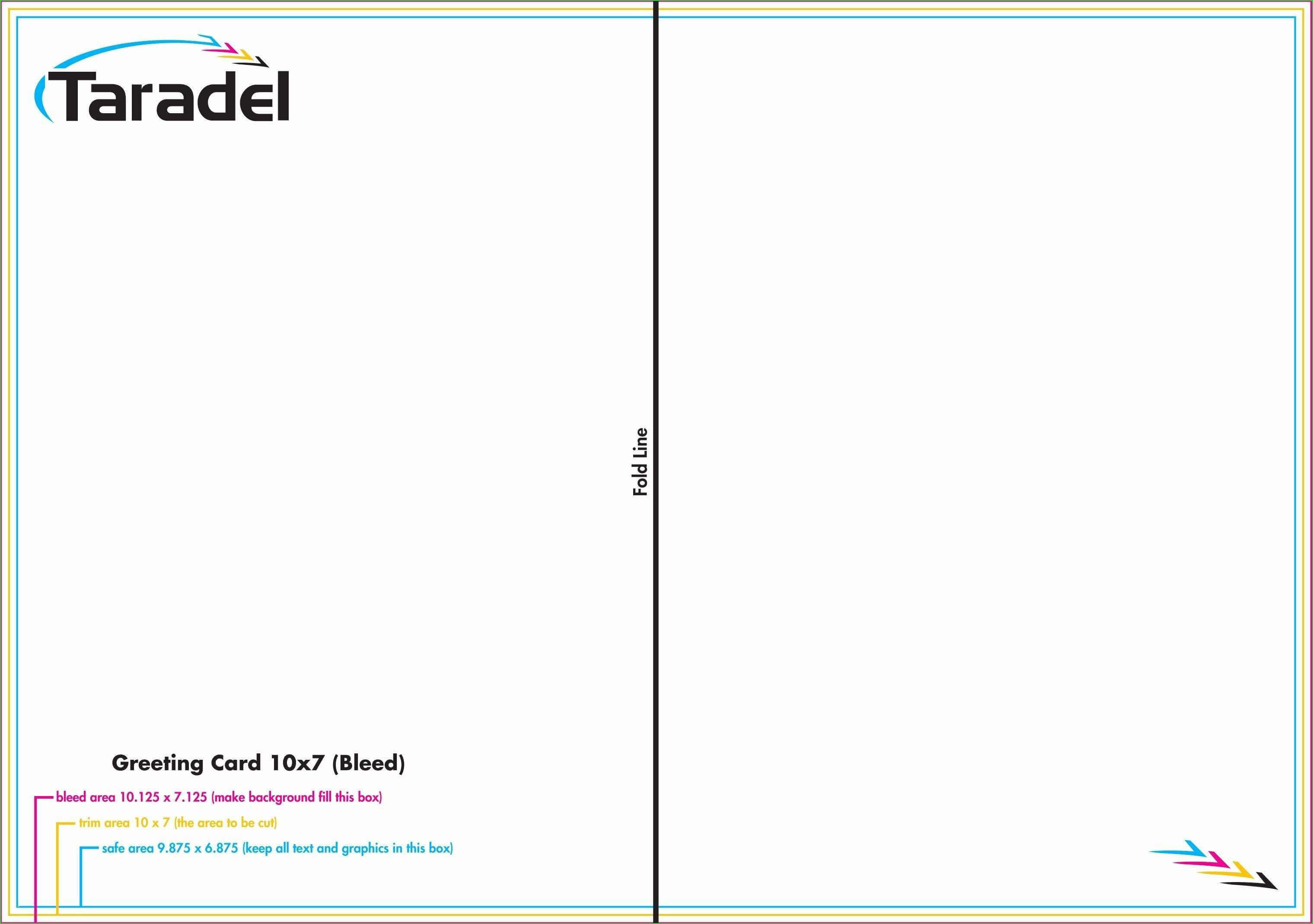 014 Greeting Card Template Photoshop Free Quarter Fold with Birthday Card Template Indesign