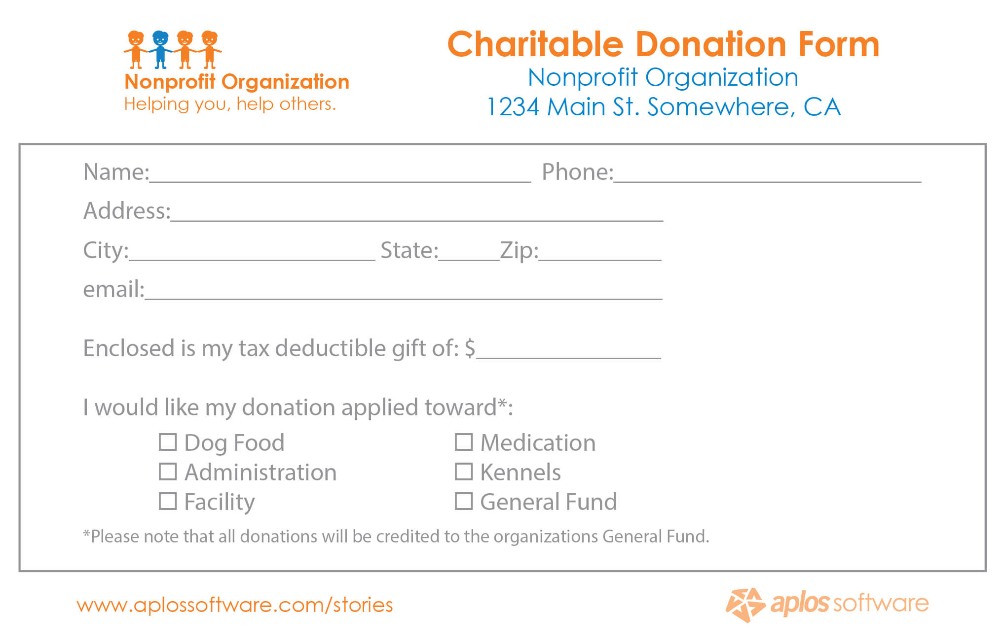 016 Template Ideas Fundraising Form Excel Donation with Fundraising Pledge Card Template