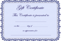 017 Free Printable Gift Certificates Template Awful Ideas with Player Of The Day Certificate Template