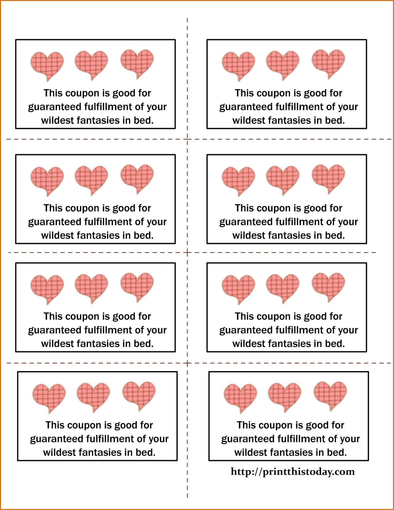 018 Printable Coupon Template Love Coupons Ideas Make Your With Love Coupon Template For Word
