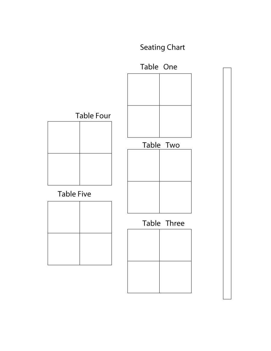 019 Seating Charts Wedding Templates Chart Template In Wedding Seating Chart Template Word
