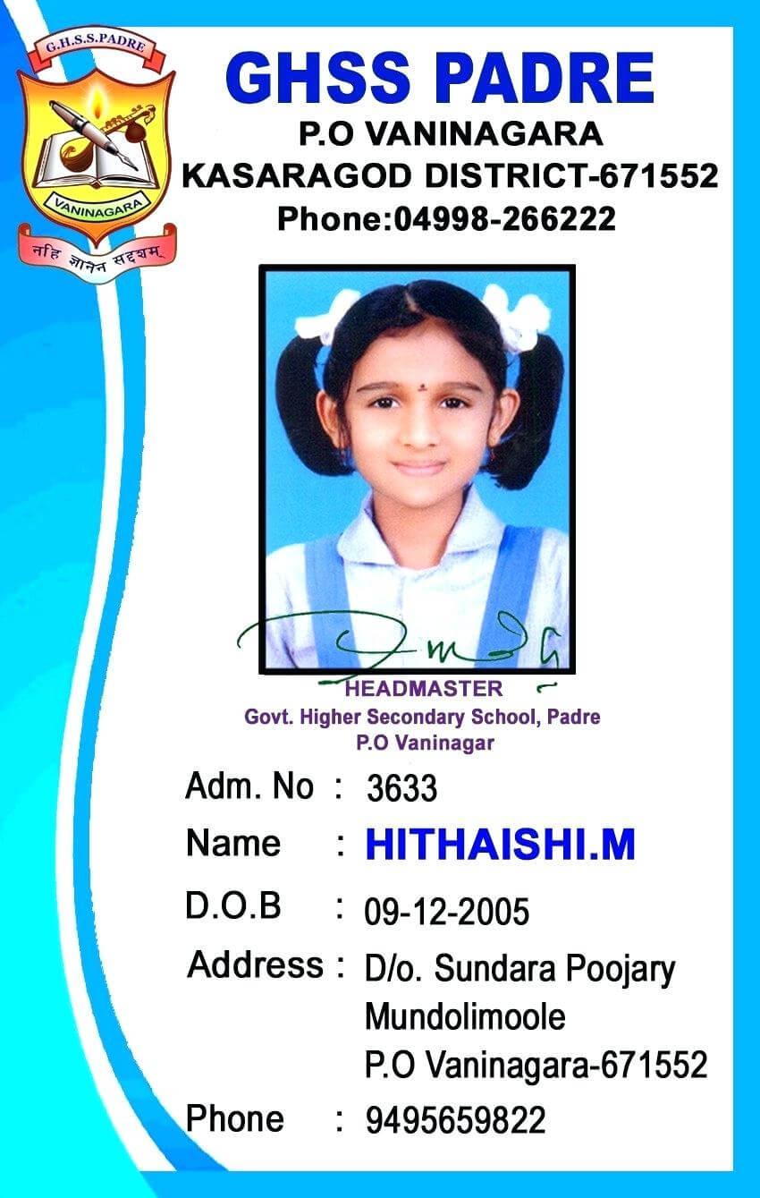 019 Student Id Card Template Beautiful Simple Sample Psd with regard to Sample Of Id Card Template