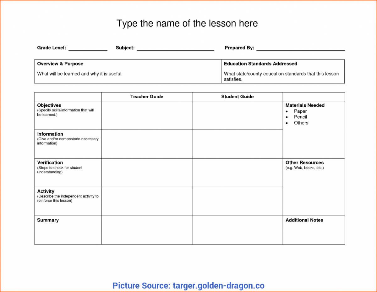 019 Template Ideas Unit Lesson Plans Top Blank Plan Nz With Blank Unit Lesson Plan Template