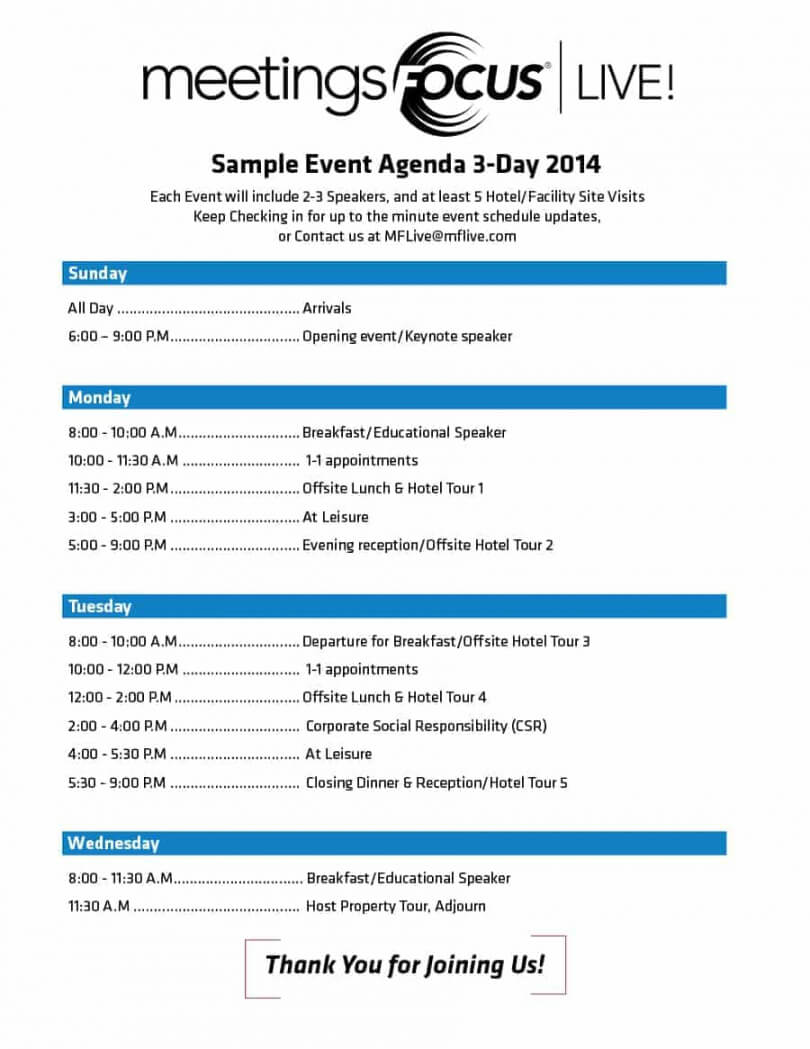 022 Free Event Program Template Templates Designs Archive in Event Agenda Template Word