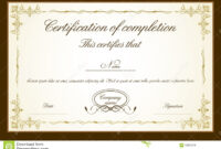023 Template Ideas Certificate Free Templates For Fantastic For Free Certificate Of Completion Template Word