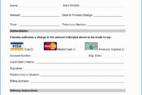 023 Template Ideas Credit Card Form Authorization Pdf Of with Credit Card Payment Form Template Pdf