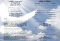 025 Church Bulletin Templates Program Template Free in Church Program Templates Word