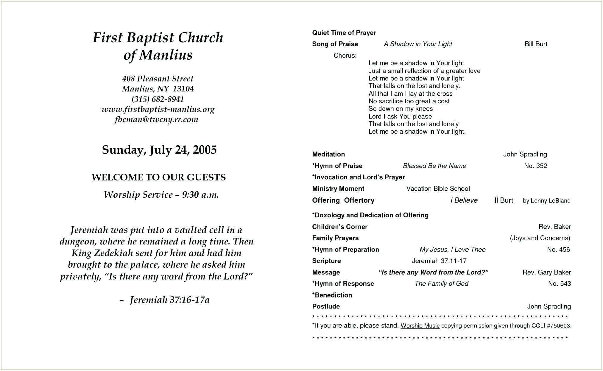 025 Church Program Template Word Wedding Search Bulletin Within Church Program Templates Word