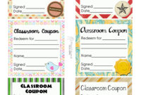 025 Free Printable Coupon Templates Classroom Sheet Template with regard to Coupon Book Template Word