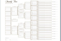 025 Generation Family Tree Template Simple Breathtaking regarding 3 Generation Family Tree Template Word